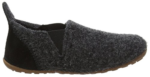 Bisgaard Wool Sailor, Zapatillas de estar Por Casa Unisex Niños Grau (74 Antrachite)