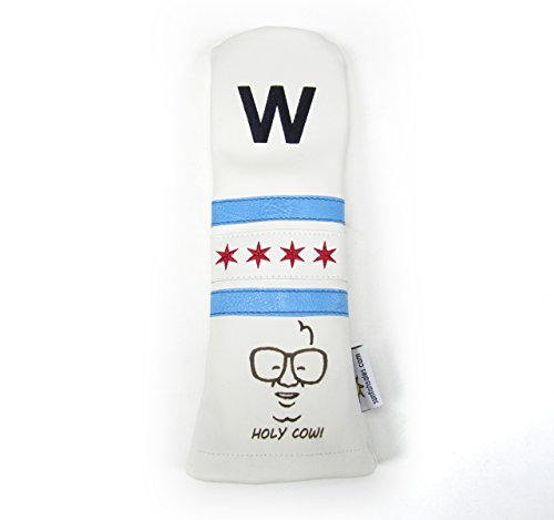 Sunfish Leather Fairway Golf Headcover Cubs Win Fly The W