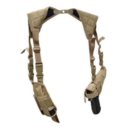 Condor Universal Shoulder Holster - Coyote - USH-498 - New
