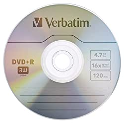 Verbatim Dvd+r Life Series 50pk Blank Media