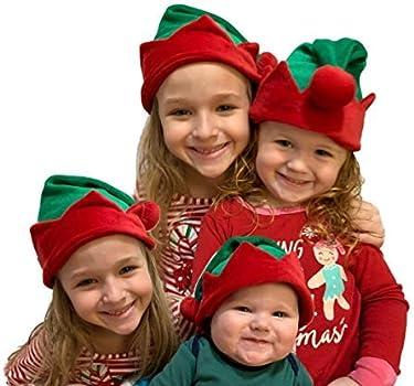 f4da44efb Koala Kids Baby Cute Little Elf Hat Boy Girl Red Green Velour Infant  Toddler … Soft and Adorable!