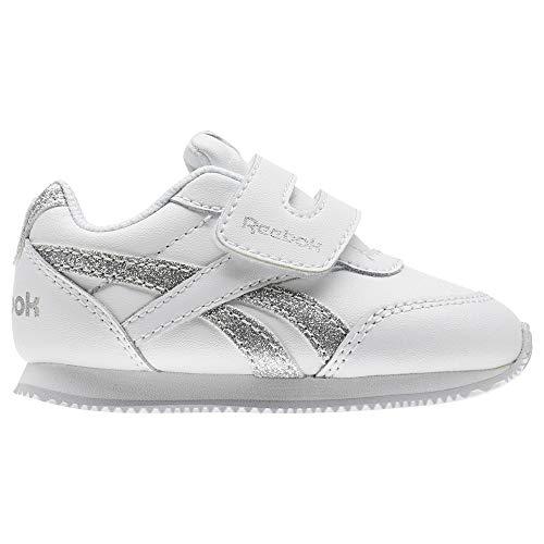 Bianco Sparkle 000 Blanco Cn1327 Sneakers white Reebok Bambino silver argento twvCc6