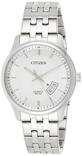 Citizen Analog White Dial Men's Watch-BI1050-81A