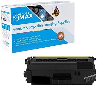 Equivalent to Brother TN-336BK 4000 Page Yield SuppliesMAX Compatible Replacement for Innovera IVRTN331B Black Toner Cartridge