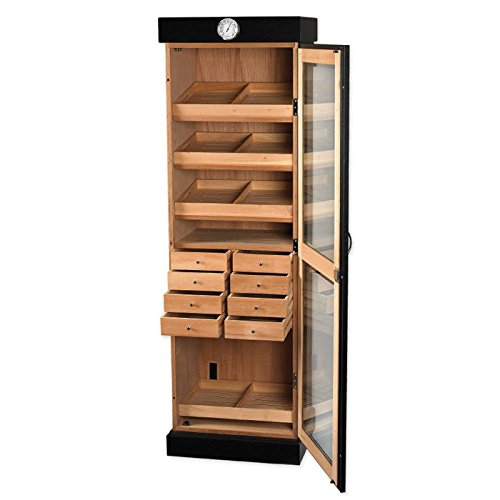 Upright Humidor Cabinet (3000 Cigars) by Quality Importers