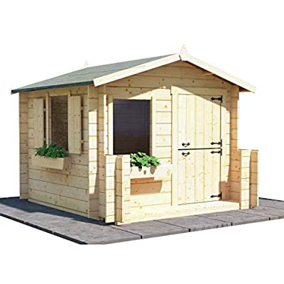 BillyOh Wooden Log Cabin Playhouse 19mm