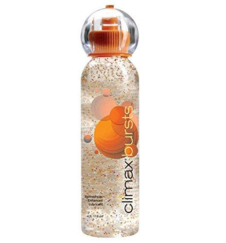 Climax Bursts Aphrodisiac Enhanced with Bursting Beads Water Based Sex Lubricant : Size 4 Fl. Oz.