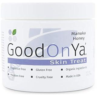 Manuka Honey Face Moisturizer with Coconut Oil, Cocoa Butter, Aloe Vera, Vitamin E and Vitamin C - Anti Aging and Skin Lightening Cream - Pore Minimizer and Whitening MSM Cream (4 oz)