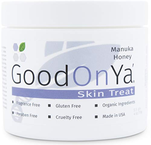 Manuka Honey Face Moisturizer with Coconut Oil, Cocoa Butter, Aloe Vera, Vitamin E and Vitamin C - Anti Aging and Skin Lightening Cream - Pore Minimizer and Whitening MSM Cream - (4 oz)