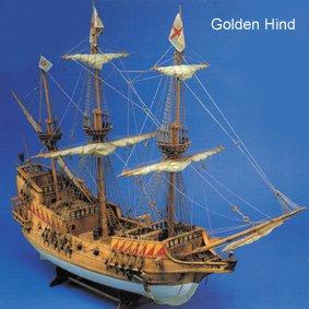 Golden Hind barco modelo impreso Plan para construir por ...