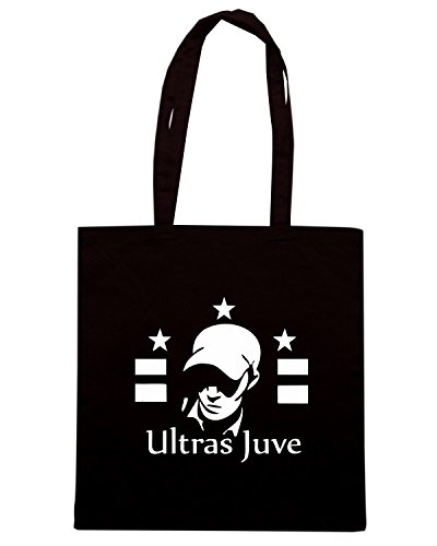 T-Shirtshock - Borsa Shopping TUM0023 ultras juventus Nero