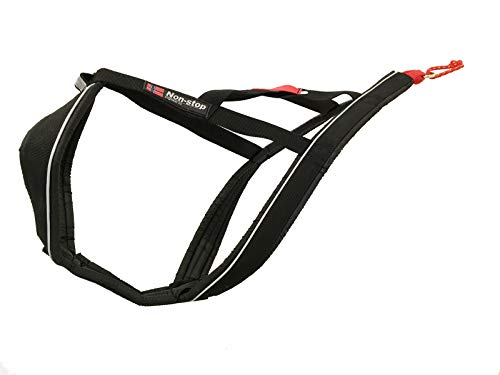 Non-stop dogwear X Back Harness for Pulling, Sledding, Canicross, Bikejoring & Mushing (7.5)