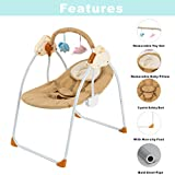 Baby Swing Baby Rocking Chair 3-speed Adjustment