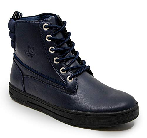 Nautica Men's Garren Lace Up Winter Snow Formal Dress Fashion Boots