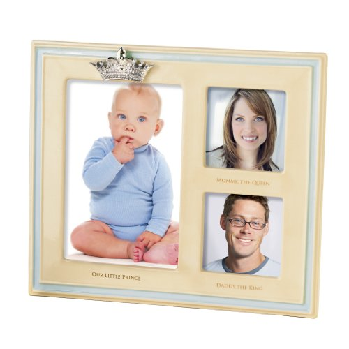 Blue Frame Prince (Grasslands Road Little Majesty Frame, Our Little Prince Triple Opening Cream and Blue, 8 by 9-1/4-Inch)