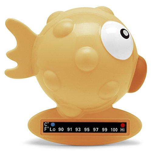 Chicco Termometro de Baño, pez, naranja