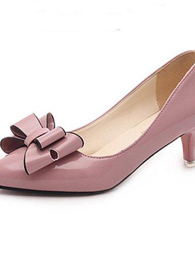 eu39 Pink uk6 cn39 uk6 Cuero eu39 Talones Punta amp; Del carrera Oficina Dedo Zq talones Textiles Zapatos B¨¢sica Pie De Las cn39 Mujeres En bomba Cn39 Pink us8 Uk6 us8 Eu39 us8 Home Bowknot Patentes Pink gn4qxS