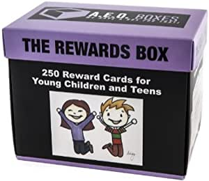 The Rewards Box - 250 Ideas for Rewards for Young Children and Teens - Includes Rewards, Family Activities and Crafts - Use for Rewards or just for Fun