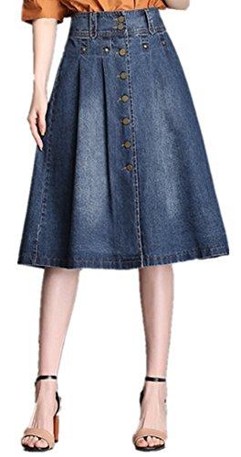 Sodhe - Jupe - Femme Bleu Bleu M