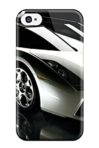 Tpu Michael Volpe Shockproof Scratcheproof Artistic Beautiful Car Hard Case Cover For Iphone 4/4s