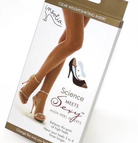 Insolia High Heel Weight Shifting Inserts Medium UK 5.5 -...
