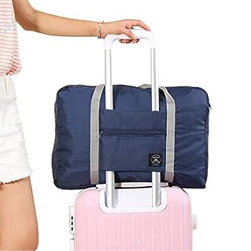 35c837bebffd Amazon.com : Saasiiyo Portable Luggage Storage Bag Set Travel Bags ...