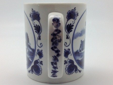 Dutch Gift Delft Windmill Coffee Cup Photo #3