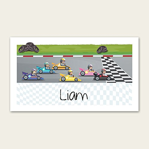 Party Bag /& Sticker Go Karting Pack of 10