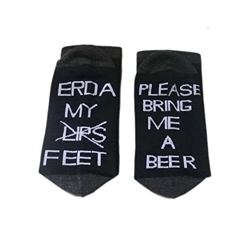 Wine Custom Socks If You can read this Me Bring a Wine Glass Sock Soft Simple by Fenta (A1DHB, one size)