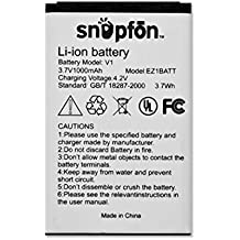 Snapfon Battery for ezONE Model B/C, ezTWO (BL-5C)