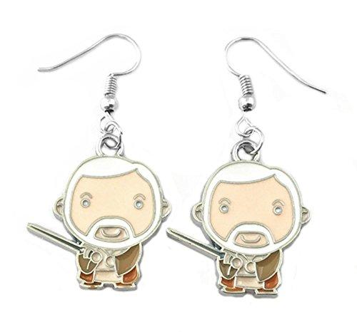 Star Wars Obi Wan Kenobi Dangle Earrings Movies Comics Cartoons Books Premium Quality Cosplay Sci-Fi Jewelry Series