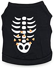 DroolingDog Dog Halloween Shirts Funny Dogs Clothes for Small Dogs