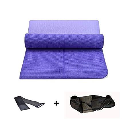 Antideslizante Yoga Mat Alta Densidad Colchoneta De ...