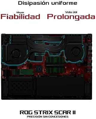ASUS ROG STRIX SCAR II GL504GM-ES155T - Ordenador portátil de 15.6 ...