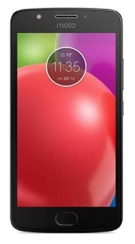 Motorola MOTO E4 w/ 5-inch HD Display Android 7.1 Verizon Wireless CDMA Smartphone - Black by Motorola (Image #1)