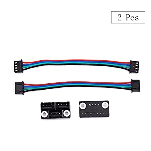 3D Printer Parts and Accessories, FYSETC 3D Printer Stepper Motor Parallel Module with W Cable for Double Z Axis Dual Z Motors Reprap Prusa Lerdge 3D Printer Board - Pack of 2 by Fuyuansheng