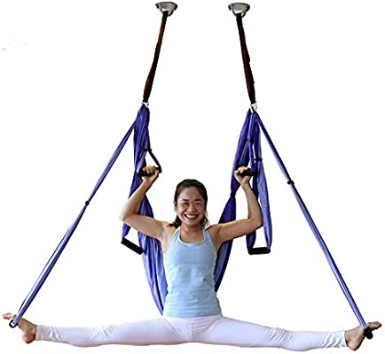 Yoga trapecio Yoga Swing azul Patchwork por mdpqt: Amazon.es ...