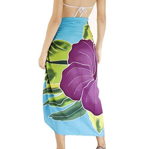 *La Leela* couvrir Beachwear Paréo jupe wrap maillot de bain en maillots de bain des femmes sarong piscine usure usure de la station de maillot de bain
