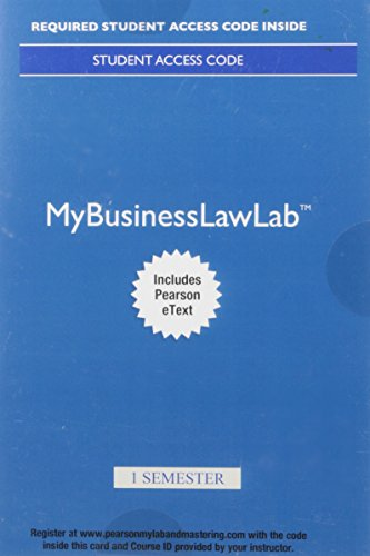 Law cheeseman pdf business