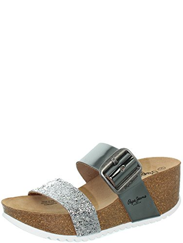 Pepe Jeans - Mules Pepe Jeans ref_pepe41040-argent