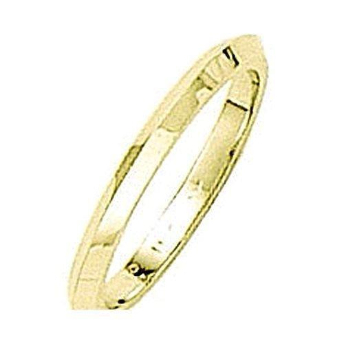 Gold 2 Mm Knife - sendmyjewelry 14kt Yellow Gold Knife Edge Wedding Band 2MM