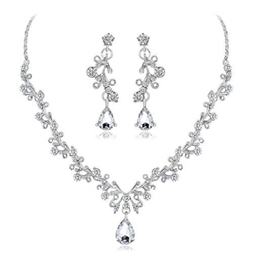 Women's Jewelry Sets, Hmlai HML-03 Glamorous Alloy Rhinestone ...