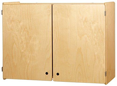 Jonti-Craft 0945JC Lockable Wall Cabinet