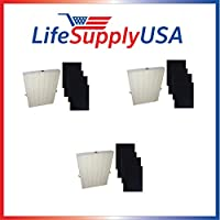 3 pack True HEPA Plus 4 Carbon Replacement Filter for Winix 115115 Size 21 by Vacuum Savings