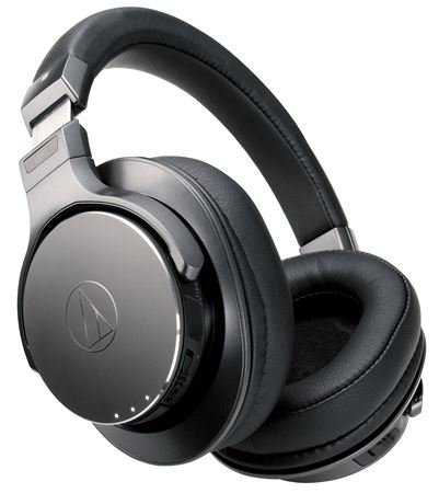 Audio-Technica ATH-DSR7BT Bluetooth Wireless Over-Ear Headphones with Pure Digital Drive