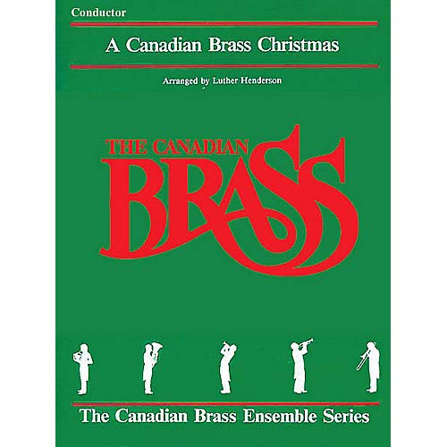 The Canadian Brass Christmas (Conductor) Brass Ensemble Series by Various- Pack of 2