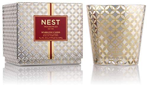 NEST Fragrances Sparkling Cassis 3-Wick Candle,