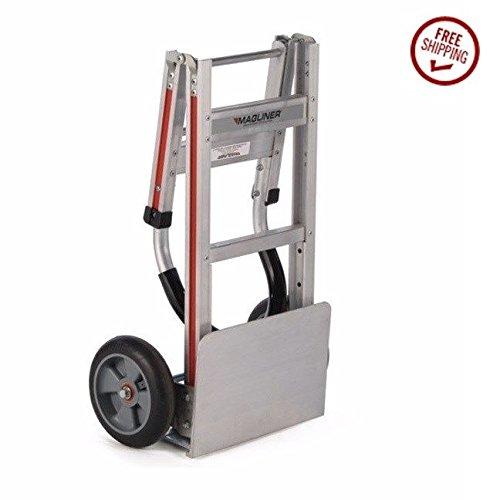 Magliner-2-Wheeler-Folding-Aluminum-Hand-Truck-with-Vinyl-Grip-Handle-8-Tires