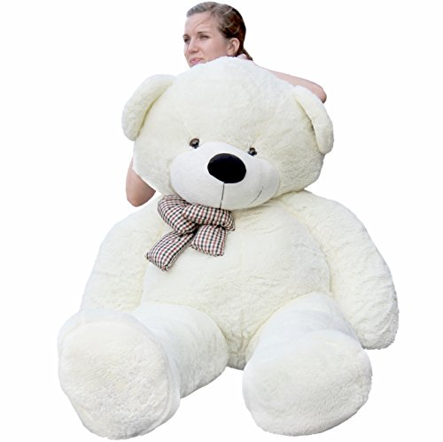 Joyfay Giant Teddy Bear 78''(6.5 Feet) White by Joyfay (Image #2)