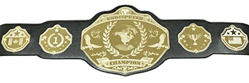 Undisputed Belts Universal Championship Belt - Custom Banners -